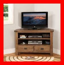 ebay tv cabinets oak image detail for oak furniture rustic corner tv dvd stand