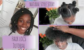 faux locs with marley hair super easy tutorial youtube