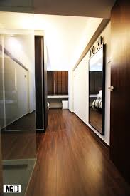 Laminate Floor On Ceiling Open Modern Ngid Studio