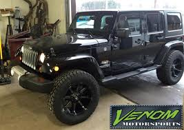 jeep tires 35 lifted jeep wrangler sahara venom motorsports grand rapids mi
