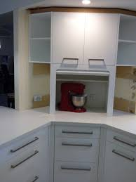 Door Appliance Cabinet Photo - Kitchen cabinet roller doors