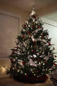 modern decorated christmas tree cheminee website