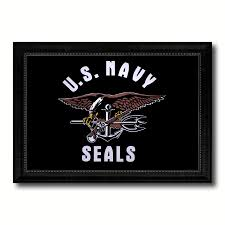 Interior Design Gifts Us Navy Seals Military Flag Patriotic Office Wall Home Decor