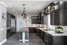 Kitchen Cabinets And Flooring Combinations Grey Hardwood Floors In Interior Design And Cool Color Combinations