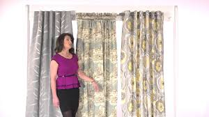 draperies u0026 curtains ripplefold panels youtube