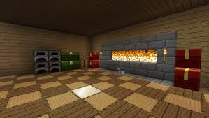 how to make a cozy fireplace in minecraft simplest way youtube