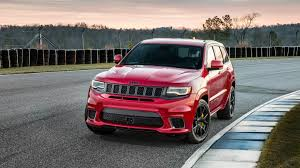 red jeep cherokee 2018 jeep grand cherokee trackhawk starts at 85 900 the drive