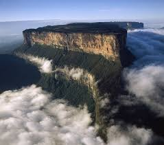 Table Top Mountain by Tabletop Mountains Of Venezuela Teacher Mar