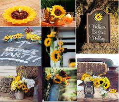 sunflower wedding decorations sunflower wedding decorations themed wedding cheap
