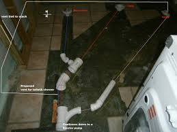 Basement Bathroom Vent Pipe Basement Bathroom Venting Question Correctly Sized Image