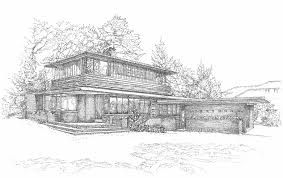 100 frank lloyd wright inspired house plans house plans