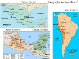 mayan empire map america yucatan peninsula south america andes mts ppt