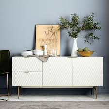 Media Cabinet West Elm Audrey Dining Buffet Parchment Dining Buffet Buffet And Room