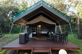 safari palm tent nrma ocean beach holiday park nsw