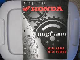 honda factory service manual 1995 1998 cr80 r 1996 1998 cr80 rb