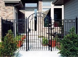 ornamental iron aluminum fences gates