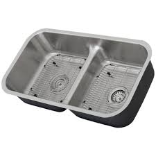 low divide stainless steel sink ticor s1210 low divide undermount 16 gauge stainless steel kitchen