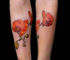 red orchid tattoo best flower 2017