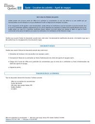 bureau protection du consommateur opc agence de voyages guide cessation activites