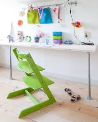 designs ideas cute kids room with small desk and unique green