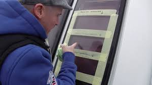 removing scratches from caravan windows youtube