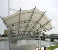 Awnings St Louis Mo Fabric Structures St Louis Metal Awnings Saint Charles Tension