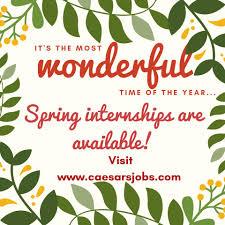 Summer Entertainment Internships Internships Caesars Entertainment Home Facebook