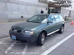 green station wagon audi allroad 2002 green 17