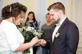 bureau d enregistrement cérémonie de mariage dans un bureau d enregistrement photo stock