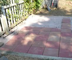Simple Paver Patio Installing Paver Patio Free Home Decor Techhungry Us