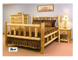 Log Bed Pictures by Ideas Log Bedroom Sets For Nice Bed Log Cabin Furniture