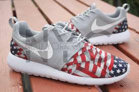 American Flag Shoes Temperament Shoes Baby Infant Girls Nike Thea Se Grey Toddler
