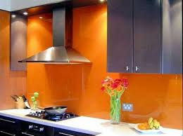 orange kitchen ideas modern kitchen decorating ideas with grey floating cabinet and