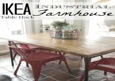 ikea farmhouse table hack ikea farm table home design