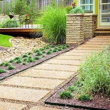 Backyard Walking Paths Crushed Rock Garden Pathway Ideas Photograph Path And Walk