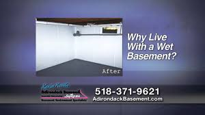 Wet Basement Systems - adirondack basement systems for