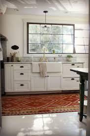 Long Kitchen Cabinets Kitchen Best Kitchen Rugs White Kitchen Cabinets Large Kitchen
