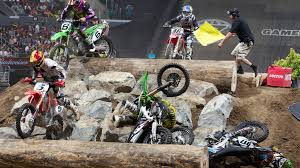 riders ready for random obstacles in enduro x at x games austin 2014