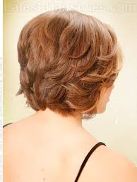 back view wavy short bob for thick hair 2015 51 stylish and sexy short hairstyles for women over 40