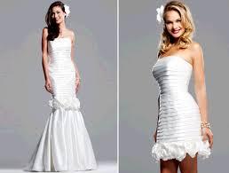 convertible mermaid wedding dress convertible wedding dress by boszilkov with girly