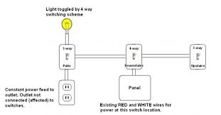 4 way wiring sanity check and wire color question doityourself