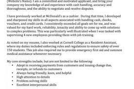 mcdonalds job description resume mcdonald u0027s crew resume reentrycorps