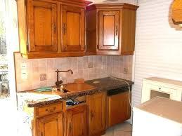 peindre une cuisine en chene rustique vernis repeindre cuisine chene repeindre une cuisine en chene