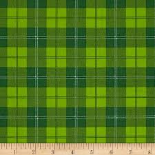 Home Design Story Christmas A Christmas Story Plaid Green Discount Designer Fabric Fabric Com
