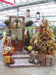 create a fall holiday tree for your front entrance or porch with