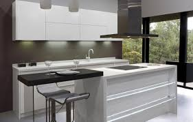 white small kitchen ideas with pendant light above kitchen island