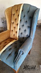 Where To Buy Upholstery Fabric Spray Paint Paint Velvet Fabric A Chair Makeover The Magic Brush Inc