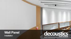 fabricmate wall finishing solutions homes decoustics fabric wall panel installation youtube