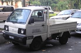 suzuki carry truck file suzuki carry fifth generation pickup front kuala