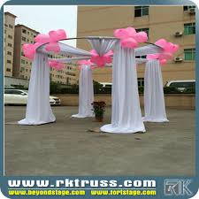 wedding backdrop stand rental aluminum wedding stage backdrop exhibition booth rental buy